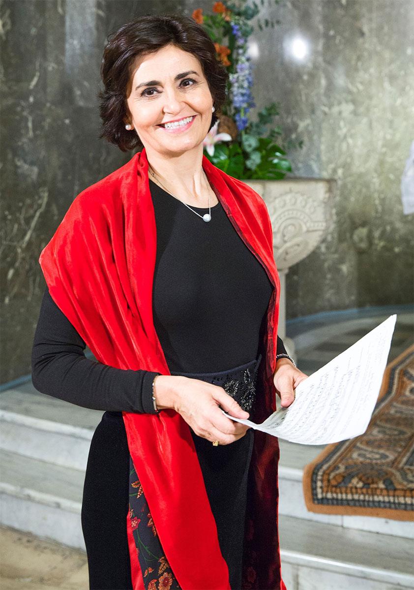 Cantante soprano para eventos de empresa, cocktails Reyes Moraleda