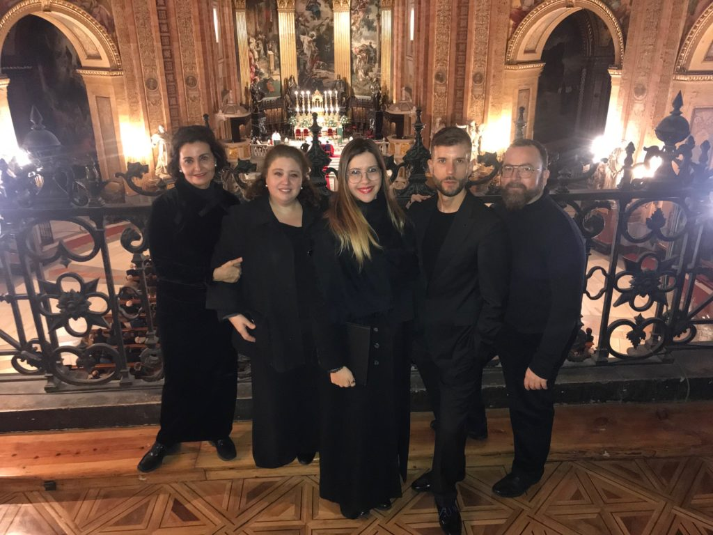 Coro o grupo musical para bodas civiles o religiosas San Francisco el Grande