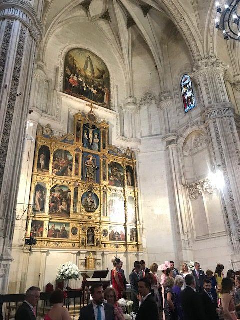 Cantante soprano en San Juan de los Reyes, Toledo