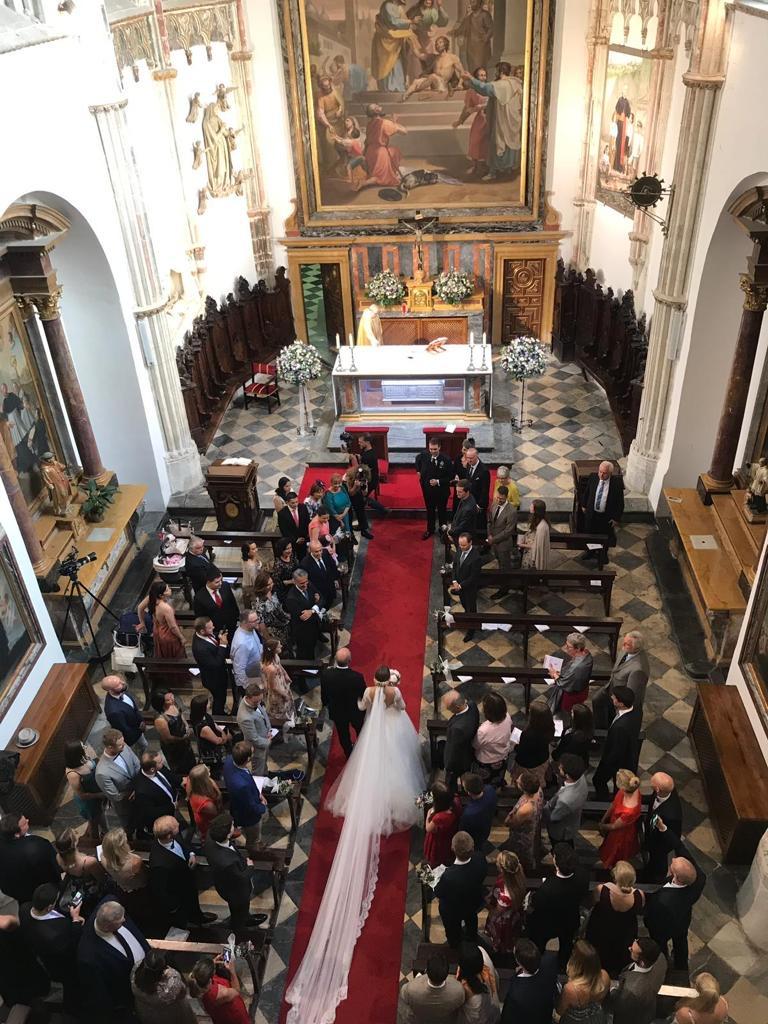 Cantante para bodas en Catedral de Toledo