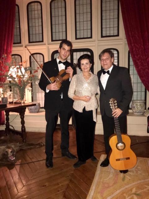 Recital de la cantante Reyes Moraleda