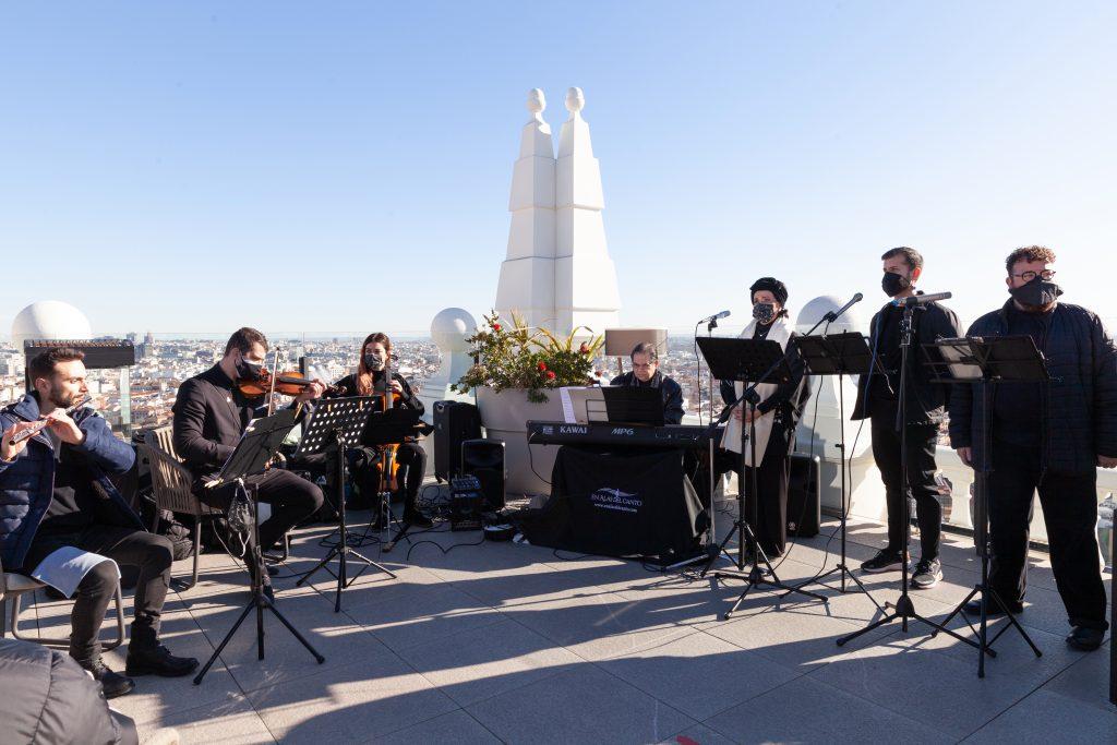 Reyes Moraleda, cantante soprano para eventos de empresa